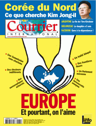 Cover of Courrier International No 970