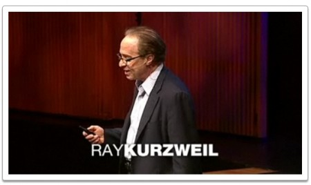 Ray Kurzweil, Photo TED