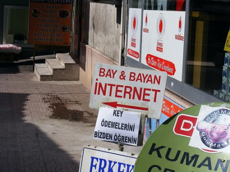 Turkish internet café - for men and women, photo: Marko Anastasov/flickr
