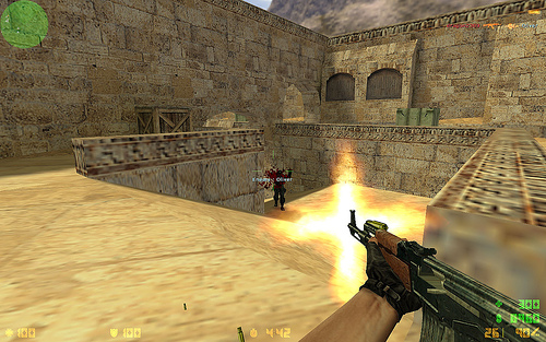 Counter-Strike: http://www.flickr.com/photos/dragon2309/1374231537/ Dragon2309/flickr