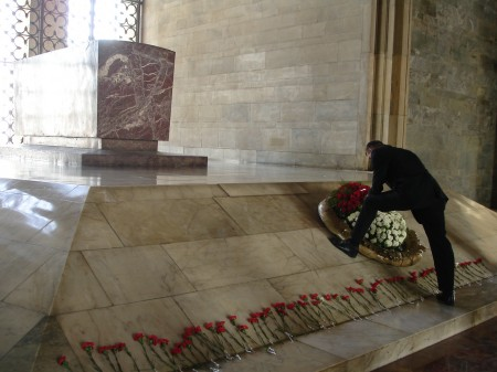 Mustafa Kemal Atatürk's mausoleum / Photo: carolinebeatriz/flickr