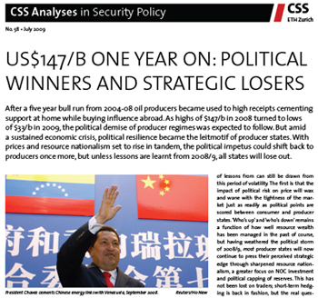 US$147/B One Year On: Political Winners and Strategic Losers