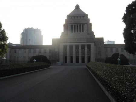 Building of the National Diet, the Japanese parliament/ Photo: erinsikorskystewart/flickr