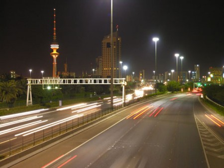 A highway in Kuwait City / Photo: Fawaz Al-Arbash, flickr