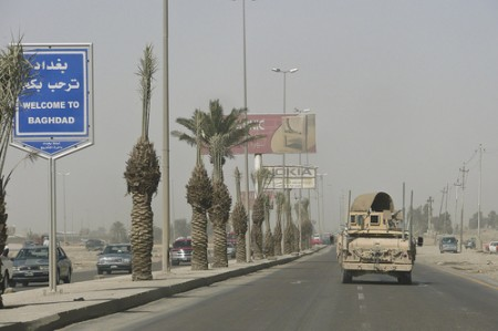 Welcome to Baghdad, photo: Austin King / flickr