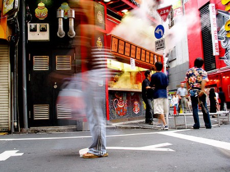 Street scene in Tokyo/Photo: James D Law