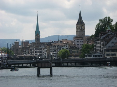 Zurich, Switzerland, courtey of Zug55/Flickr
