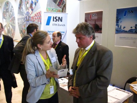Remarkable interest in the ISN at the 4th European Security Research Conference