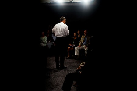 Obama at a town hall meeting / Photo: The Official White House Photostream, flickr