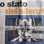 Silenzio. Press Freedom under Fire in Italy, photo: Zingaro. I am a gipsy too/flickr