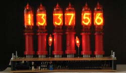 Nixie clock / Photo: Public domain, Wikipedia