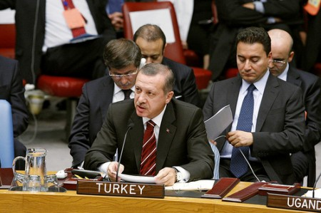 Prime Minister of Turkey Erdogan, courtesy of the United Nations/flickr
