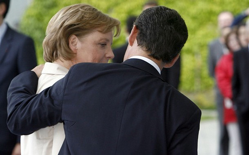 Nicolas Sarkozy and Angela Merkel, photo: Chesi- Fotos CC/flickr