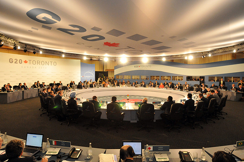 G20 Summit, courtesy of The Prime Minister's Office/flickr (Crown Copyright)