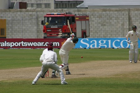International cricket in Barbados