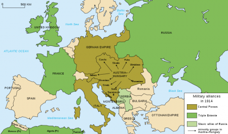 A map of the 'old Europe'