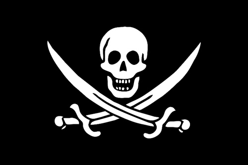 A pirate flag