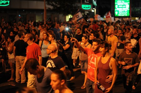 Protests in Tel Aviv last fall
