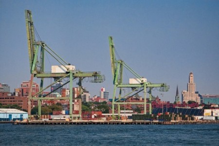Red Hook Container Terminal, Brooklyn