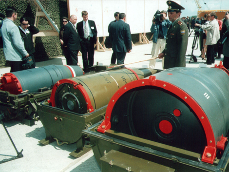 Chemical Nuclear Warheads