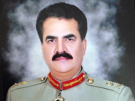 General Raheel Sharif, Chief of Army Staff of Pakistan