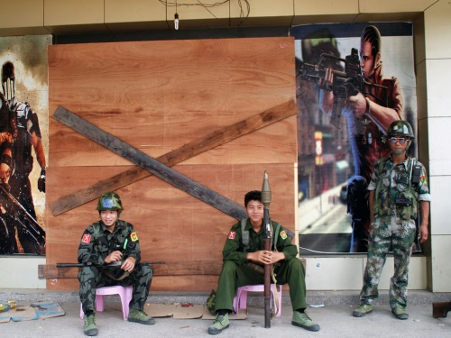 Kachin rebels