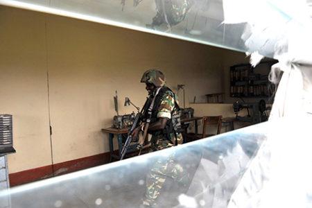 A Burundian Soldier