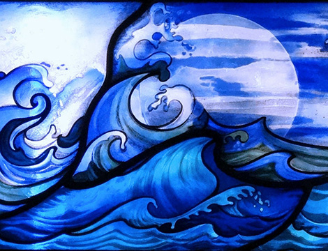 Sea Storm, Blue Moon