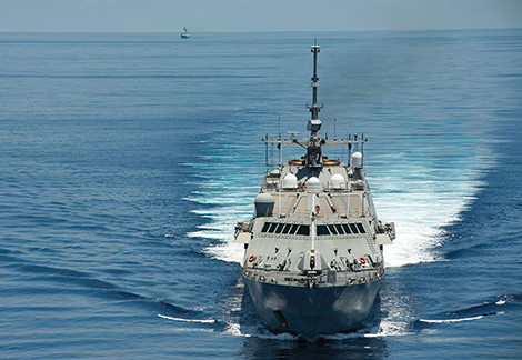 Littoral combat ship USS Fort Worth