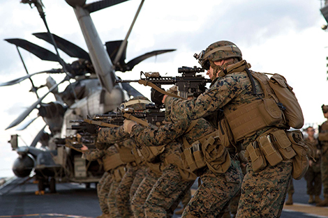 Marines, assigned to 31st Marine Expeditionary Unit