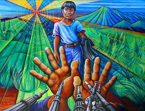 Ceasefire by Juana Alicia