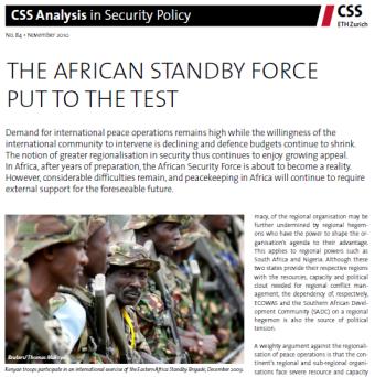 CCS Analysis No 84