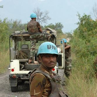 A UN Peacekeeper in Africa