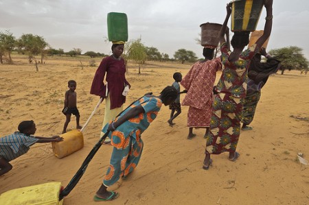 Mali refugees in Niger