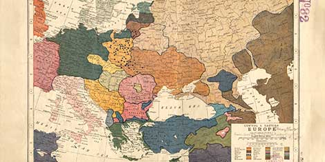 Map Of Europe And China.The Four Faces Of China In Central And Eastern Europe Css Blog Network